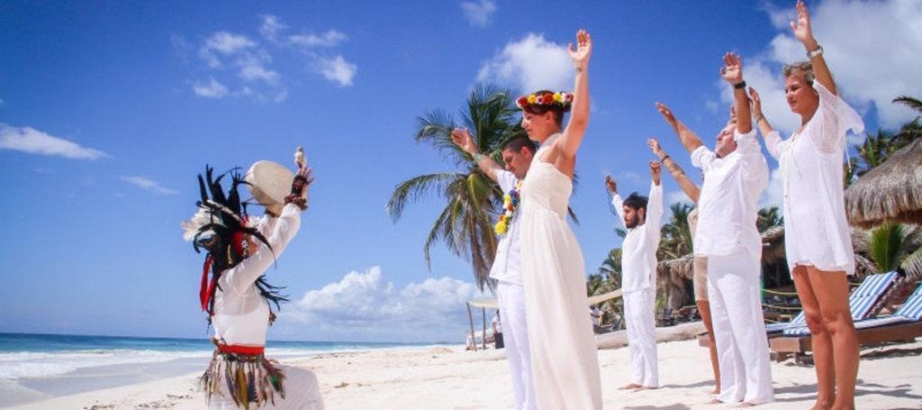 Una ceremonia especial y única: Ceremonia Maya